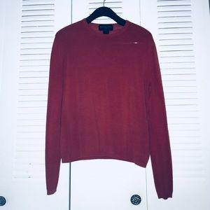 August Silk off-red Sweater